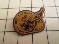 Pin1214d Pin's Pins / Beau Et Rare : SPORTS / LIGUE DES FLANDRES DE VOLLEY-BALL - Volleyball