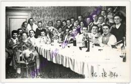 57. DIEUZE . Fête Du Père Cent . 16 12 1934 . PHOTO-CPA - Dieuze