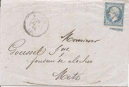 VOSGES (82)  LAC De  ROTHAU (PERLE) OBLI GC 3217 Sur NAP Pour METZ - Marcophilie (Lettres)