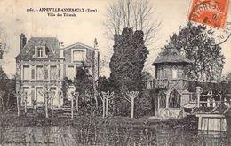 C P A 27 Appeville Annebault Villa Des Tilleuls - Routot
