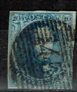 7  Obl  45 Gand - 1851-1857 Médaillons (6/8)