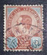 CHULALONGKORN I ER 1900 - OBLITERE - YT 34 - MI 31 - Siam