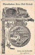 77. MOUROUX. Usine De Coubertin. Manufacture Acier Poli Nickelé - Sonstige Gemeinden