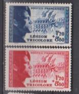 FRANCE      N° YVERT  :    565/566     NEUF AVEC  CHARNIERES - Unused Stamps