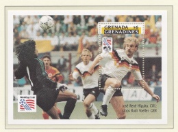 Grenada Grenadines 1994 USA World Cup FIFA Football -  Souvenir Sheet   MNH/**  (H33-2) - World Cup