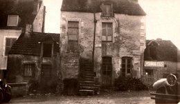 Photo Originale Immobilier Et Maison à Vendre Vers 1930 - Ruine & Tacots - S'adresser à Mr Guidoux - Places