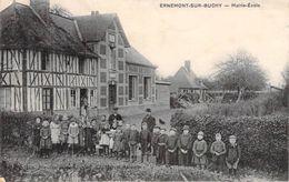 C P A 76] Seine Maritime Ernemont Sur Buchy Mairie école Carte Animée Les Enfants - France