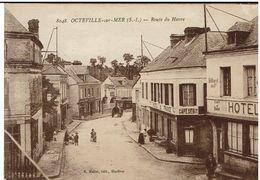 CPA - 76 - OCTEVILLE - Route Du Havre - Sépia - - Altri Comuni