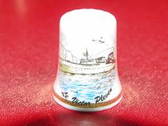 """Dé En Porcelaine""""bateau"""" - Ditali Da Cucito"""