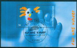 BRD 2002 / MiNr.  Block 60  Sonderstempel Berlin-Zentrum   O / Used  (s328) - [7] Federal Republic