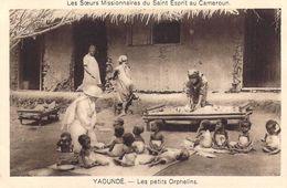 Afrique  CAMEROUN YAOUNDE Les Petits Orphelins  Les Soeurs Missionaires Du Saint-Esprit * PRIX FIXE - Cameroun