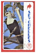 "SEYCHELLES SEY-22b ¨""Comoro Blue Pigeon"" CN: 903B In Hard Used Condition - Seychellen"
