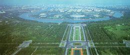 MOSCOU - Vue Panoramique De La Terrasse De L'Université Sur Les Monts Lénine - Russie