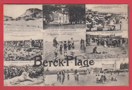 CPA- 62* BERCK-PLAGE- Ann.1910- MULTIVUES 9 CPA * TOP** - 2 SCANS - Berck