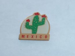 Pin's CACTUS MEXICO - Villes
