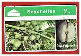 "SEYCHELLES: SEY-45 ""Coco De Mer"" CN: 805A Used - Seychelles"