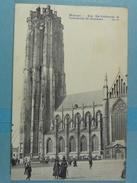 Malines Rue Ste-Catherine Et Cathédrale St-Rombaut - Mechelen