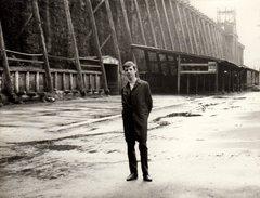 Photo Originale Allemagne - La Saline De Bad Kösen Le 31.05.1970 & Jeune Homme En Ballade - Lieux
