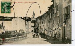 CPA.  D12. Fayet. Avenue De La Garenne. - France