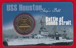 "Australia 5 Dollars 2002 Km#601 ""Battle Of Sunda Strait"" BiMetallic UNC - Moneda Decimale (1966-...)"