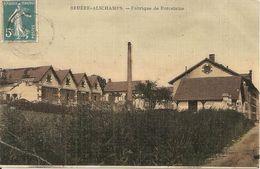 18 - BRUERE-ALICHAMPS,  FABRIQUE DE PORCELAINE (ECRITE) - France
