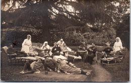 92 VAUCRESSON - CARTE PHOTO - Jardin De L'hopital Auxiliaire 260 - Vaucresson