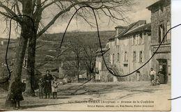 CPA.  D12. SALLES CURAN . AVENUE DE LA CONFRÉRIE. Désiré Malzac Rodez - France