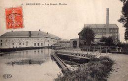 CPA - 62 - BREBIERES - Les Grands Moulins - France