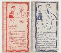BUVARD MOJAU , Laboratoires MAXI , Saint-Ouen - LOT DE 2 BUVARDS - Shoes