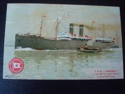 RED STAR LINE : T.S.S. VADERLAND  Par CASSIERS En 1914 - Paquebote