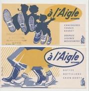 BUVARD à L' AIGLE HUTCHINSON - LOT DE 2 BUVARDS - Shoes