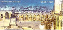 Carte Souvenir Philatélique Nancy 2005 (sans Le Feuillet) - Documents De La Poste