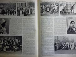 La Féte Des Provinces De France , Alsace , Pont Aven , Basse Bretagne , Lorraine , Poitevin , Vosges , Jura 1931 - Documenti Storici