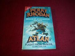 PERRY RHODAN  °°°°  Menace Of Atomigeddon  /  Atlan Flight From Tarkihl - Livres, BD, Revues