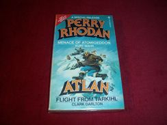 PERRY RHODAN  °°°°  Menace Of Atomigeddon  /  Atlan Flight From Tarkihl - Books, Magazines, Comics