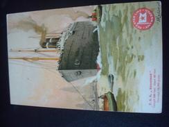 RED STAR LINE : T.S.S.  KROONLAND  Par CASSIERS - Paquebots