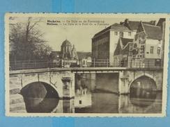 Mechelen De Dijle En De Fonteinbrug - Malines