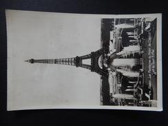 CPA - (75) - 1943 - PARIS - LES FONTAINES DU PALAIS DE CHAILLOT ET LA TOUR EIFFEL - PHOTO VERITABLE -  R9522 - Tour Eiffel