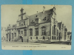 Malines Le Palais De Justice (ancien Hôtel De Parme) - Malines