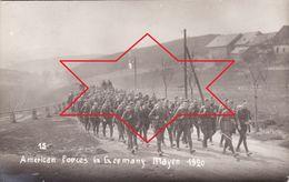 Foto-AK September 1920 MAYEN - American Forces, Compagnie D, 50th Infantry (A184, Ww1, Wk 1) - Mayen