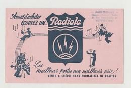BUVARD RADIOLA - Blotters
