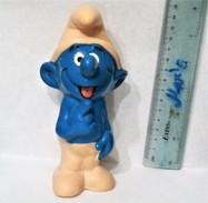 Smurfs Vintage Rubber Toy Doll  Yugoslavia - Smurfs