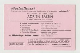 BUVARD ADRIEN SASSIN Produits Vétérinaires - Agriculture