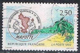 FRANCE : N° 2735 Oblitéré (Rattachement De Mayotte à La France) - PRIX FIXE  - - Frankreich