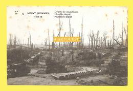 CPA Heuvelland - Kemmel 14 - 18 Dépot Munitions Munitie Depot - Heuvelland