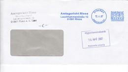 BRD Neue Privatpost 2007 Post Modern Dresden Amtsgericht Riesa - [7] Federal Republic