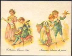 CHICOREE LEROUX 1988 Reproduction Collection Leroux 1890........NON PLIE - Calendarios