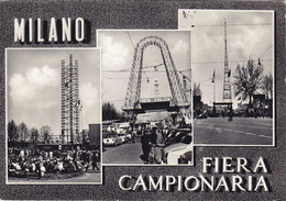 MILANO /  Fiera Campionaria - Vespe Piaggio In Vedutina  _ Viaggiata - Milano (Milan)