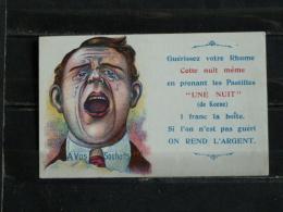 Z20 - Carte Publicité Pastilles Contre Le Rhume Keene :  ... Si L'on N'est Pas Gueri On Rend L'argent - Werbepostkarten