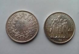 Pièce 10 Francs Argent Hercule - 1965 - K. 10 Francs